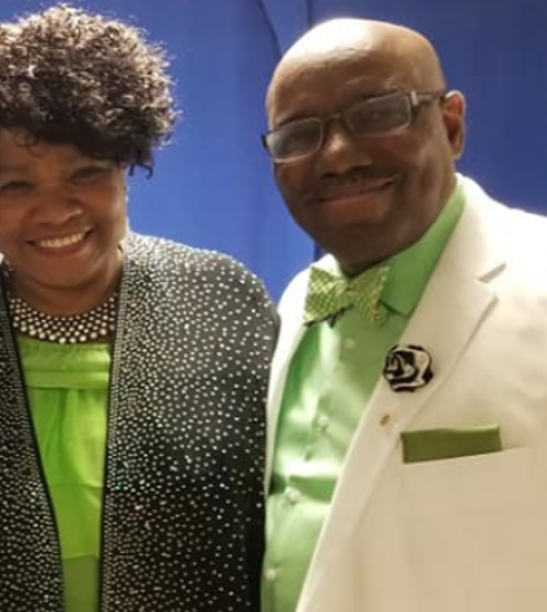 WAUKEGAN COMMUNITY CHURCH PASTOR OBLETON AND FIRST LADY MICHELLE OBLETON